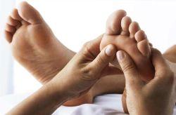 Reflexná masáž nohy a chodidla