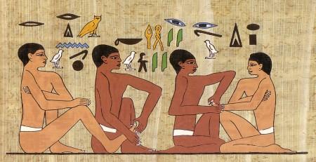 Staroveka_reflexna_masaž nohy, egypt.